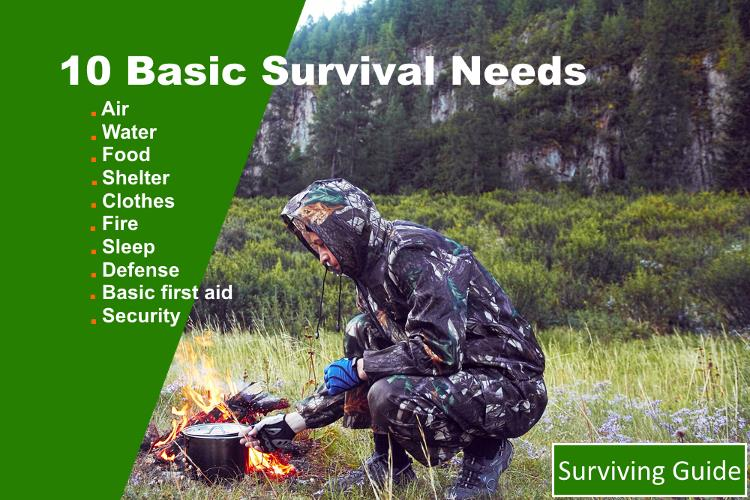 Basic Survival Needs List