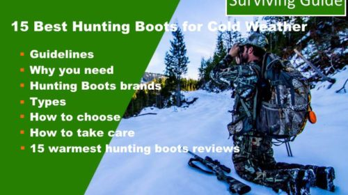 15 Best Hunting Boots for Cold weather reviews
