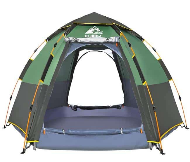 Hewolf Camping Tents 2-4 Person - Instant Tent