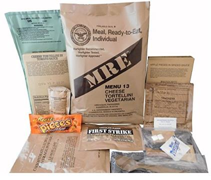 MREs (Meals Ready-to-Eat) Genuine U.S. Military Surplus