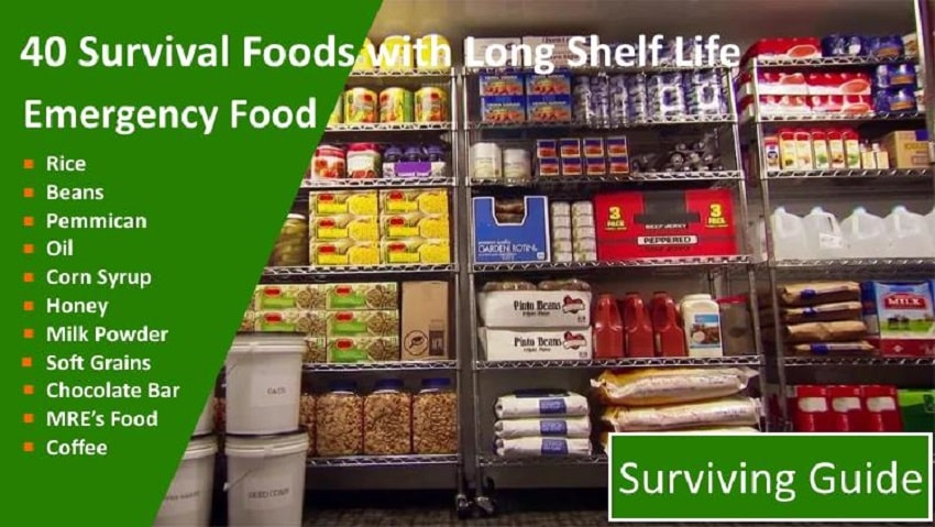 best survival food kits