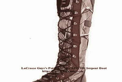 lacrosse guys poison aroma apg hd serpent boot