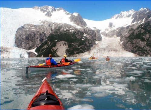 best place to kayak in alaska